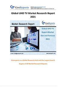 Global UHD TV Market Research Report 2021