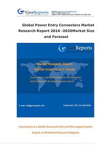 Global Power Entry Connectors Market Research Report 2016