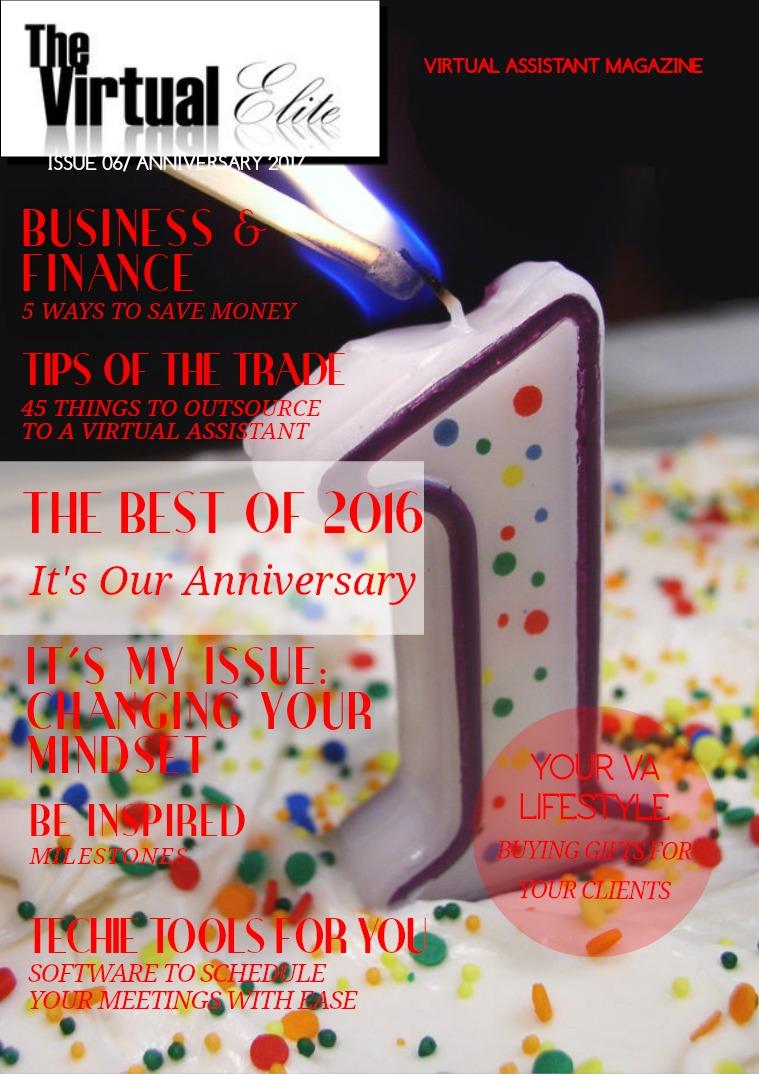 The Virtual Elite Anniversary Issue