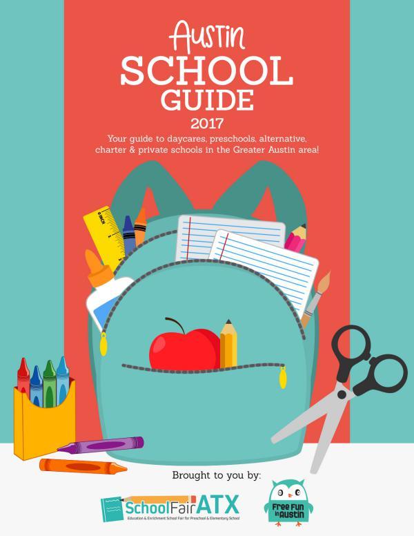 Austin School Guide 2017 Vol. 3
