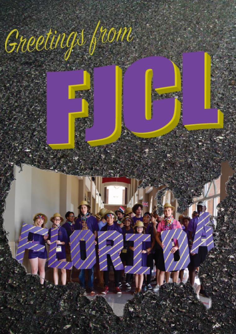 FJCL Scrapbook 2017-2018 FJCL Scrapbook 2017-2018