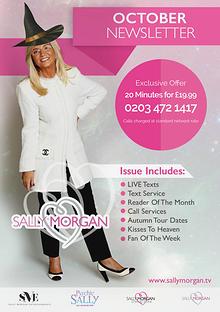 Sally Morgan Monthly Newsletter