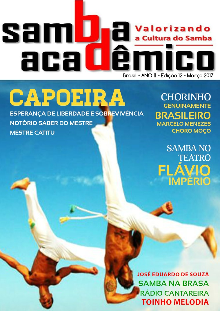 Samba Acadêmico Brasil  Edição 12 ANO II Março 2017