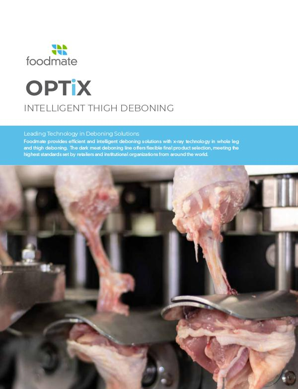 OPTiX · Intelligent Thigh Deboning