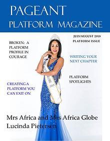 Pageant Platform Magazine July August 2018 Issue
