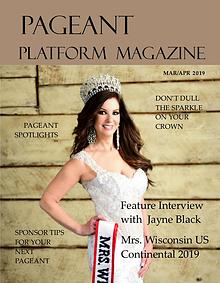 Pageant Platform Magazine March April 2019