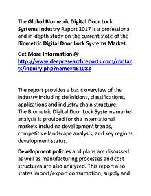 Biometric Digital Door Lock Systems Industry 2017: Market Forecast