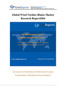 Global Wind Turbine Blades Market Research Report 2016