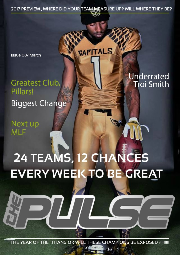 Issue 9 2017 Season Preview