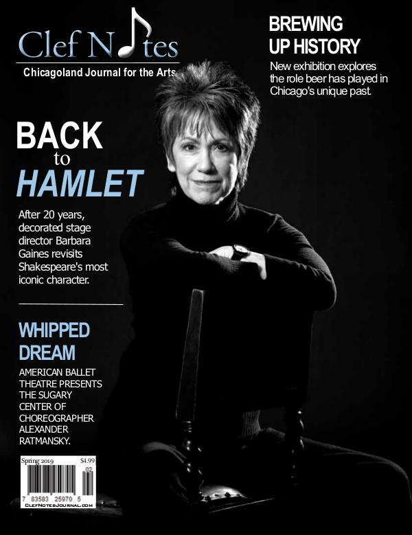 Spring 2019 Digital Edition of Clef Notes Journal