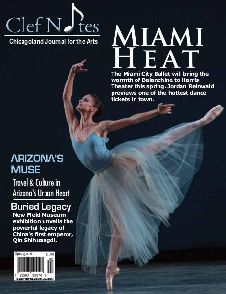 Clef Notes Chicagoland Journal for the Arts Clef Notes' Spring 2016 - Digital Edition