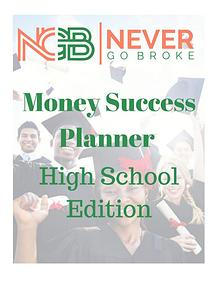 2019 Money Success Planner For High School Students DRAFT