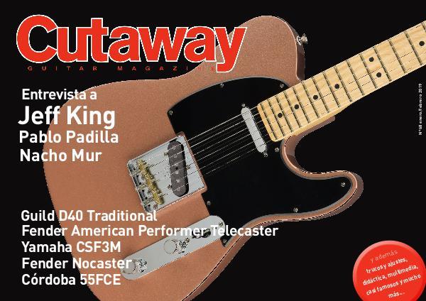 Cutaway Guitar Magazine CUTAWAY 68