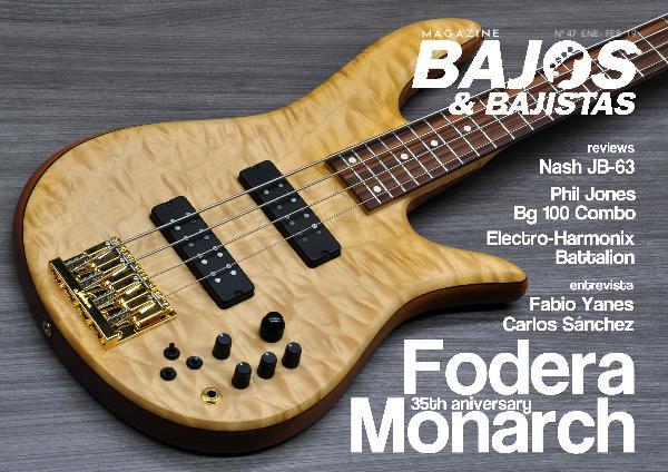 Cutaway Guitar Magazine BAJOS Y BAJISTAS 47