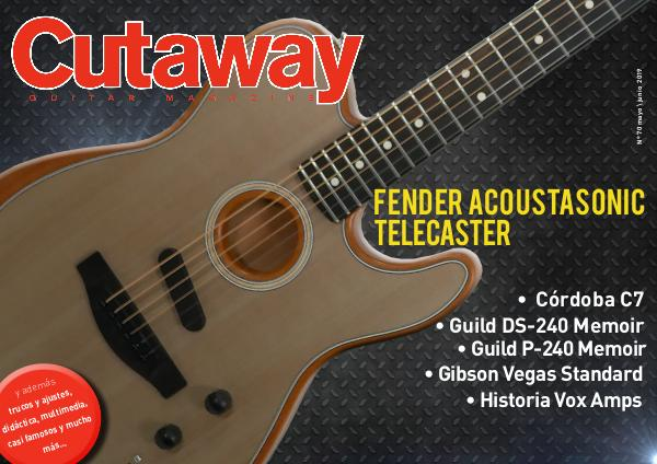 Cutaway Guitar Magazine CUTAWAY 70