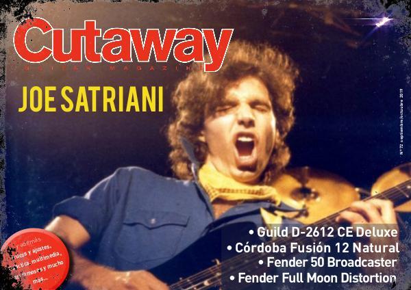 Cutaway Guitar Magazine CUTAWAY 72