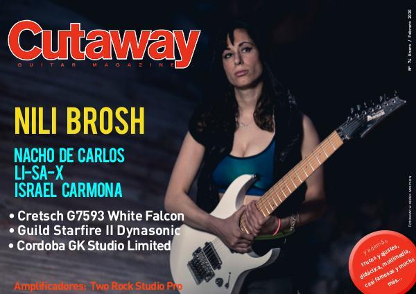 Cutaway Guitar Magazine CUTAWAY74