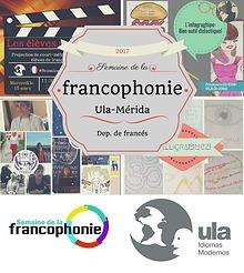 Semaine de la francophonie-ULa-Mérida 2017