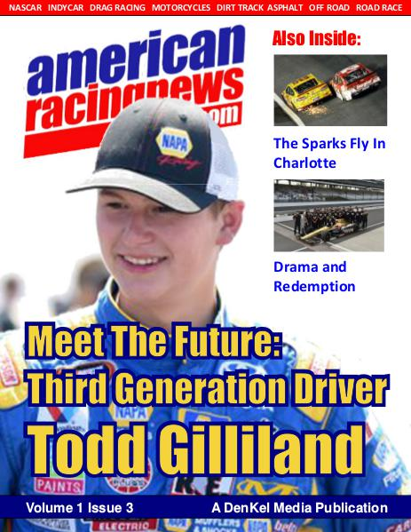 American Racing News Vol 1, Issue 2 Issue 3