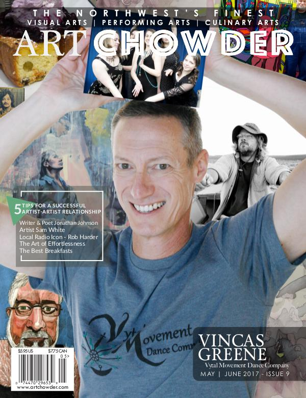 Art Chowder May   June 2017, Issue 9