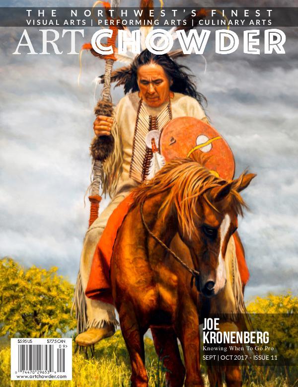 Art Chowder September   October 2017, Issue 11