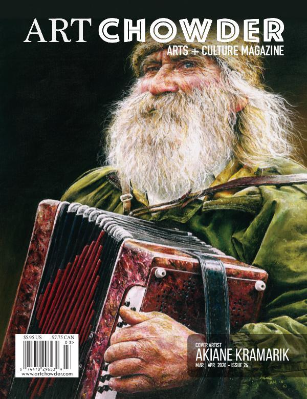 Art Chowder March | April, Issue 26