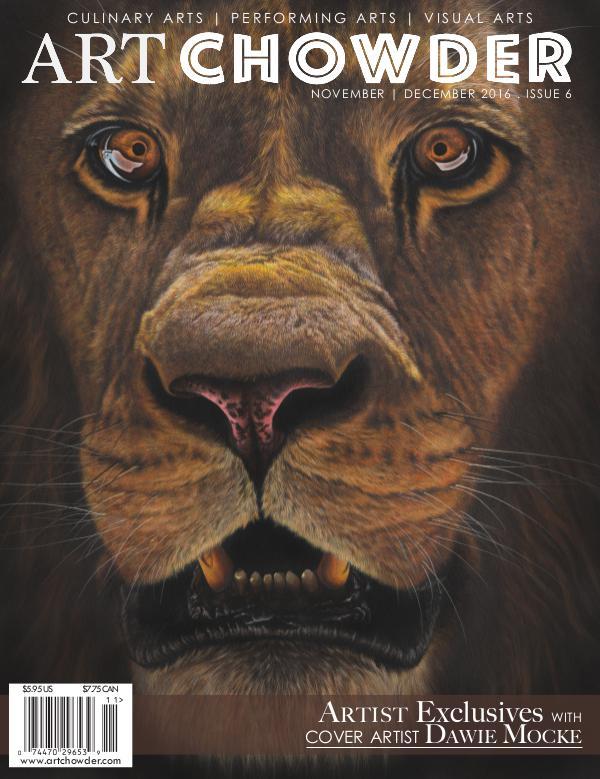 Art Chowder November | December 2016, Issue 6
