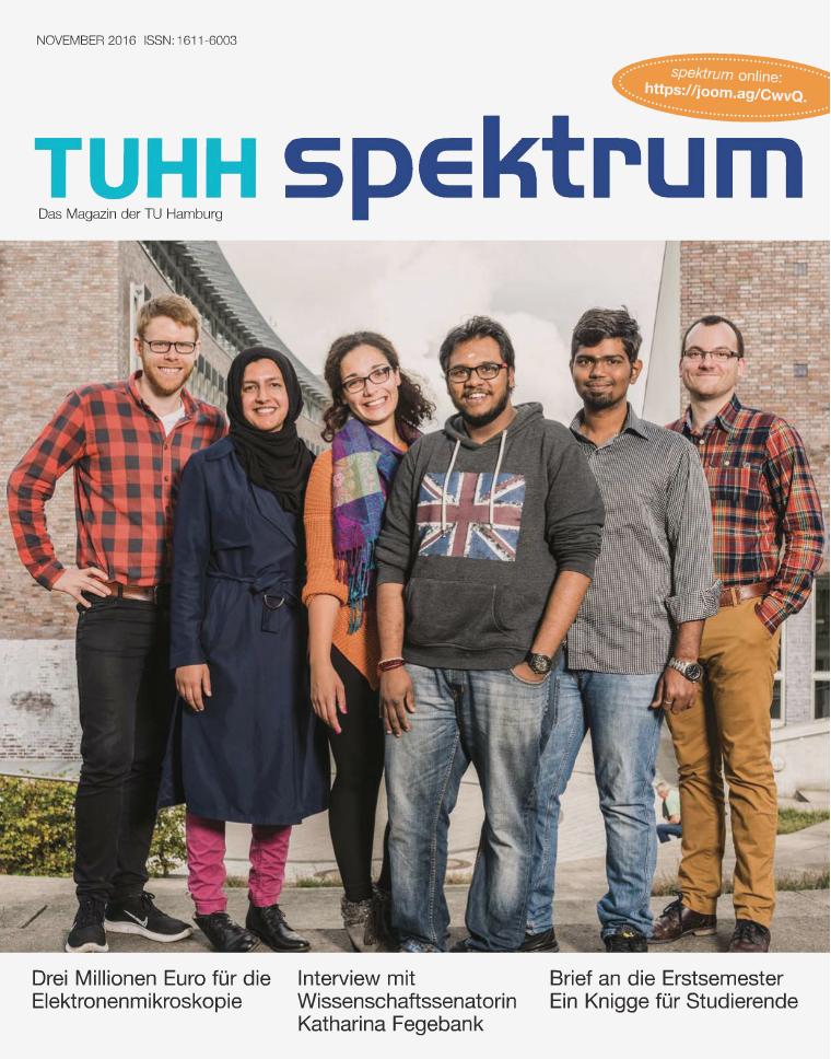 Spektrum, Das Magazin der TU Hamburg, Ausgabe November 2016