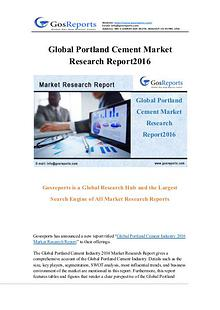 Global Portland Cement Market Research Report 2016