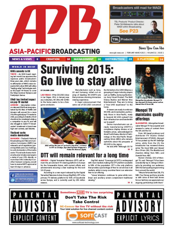 February/March 2015 Volume 32, Issue 2