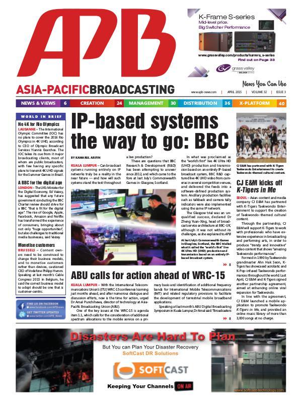 April 2015 Volume 32, Issue 3