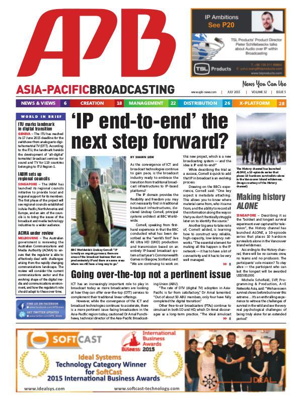 July 2015 Volume 32, Issue 5