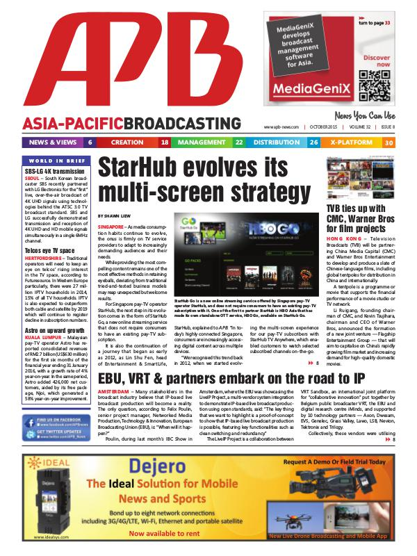 October 2015 Volume 32, Issue 8