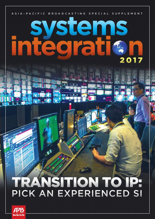 Asia-Pacific Broadcasting (APB) Systems Integration 2017