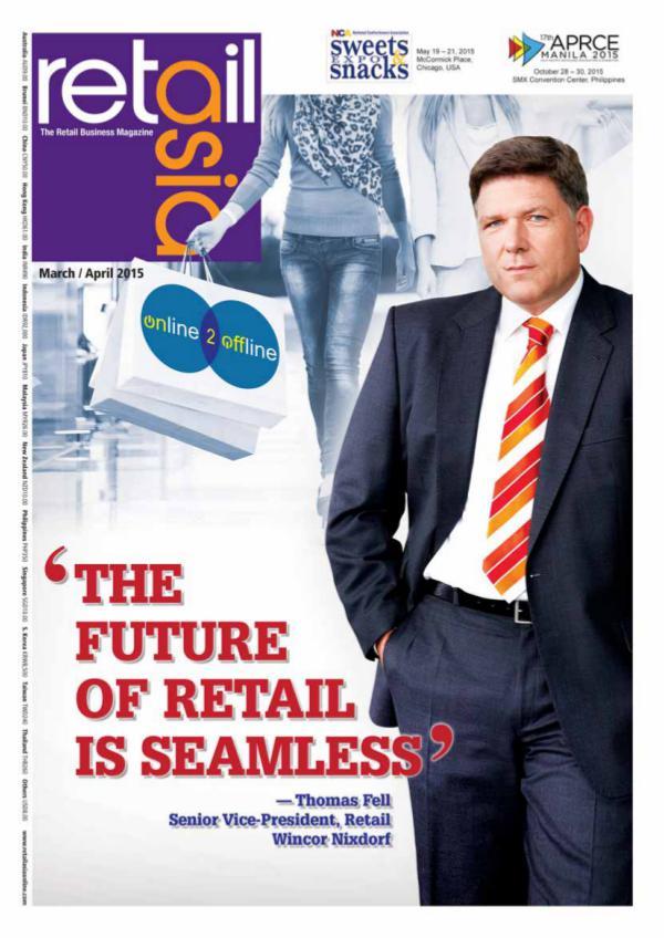 Retail Asia - Wincor Nixdorf March/April 2015 issue