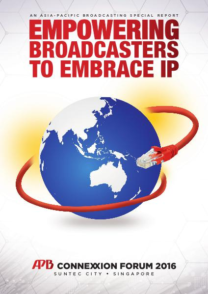Asia-Pacific Broadcasting (APB) ConneXxion Forum 2016 Special Report