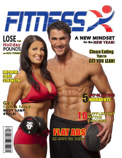 FitnessX Magazine January 2012 Vol 1 - 2012