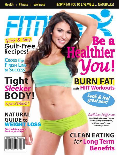 FitnessX Magazine Summer-Fall 2013 Vol 1 - 2013