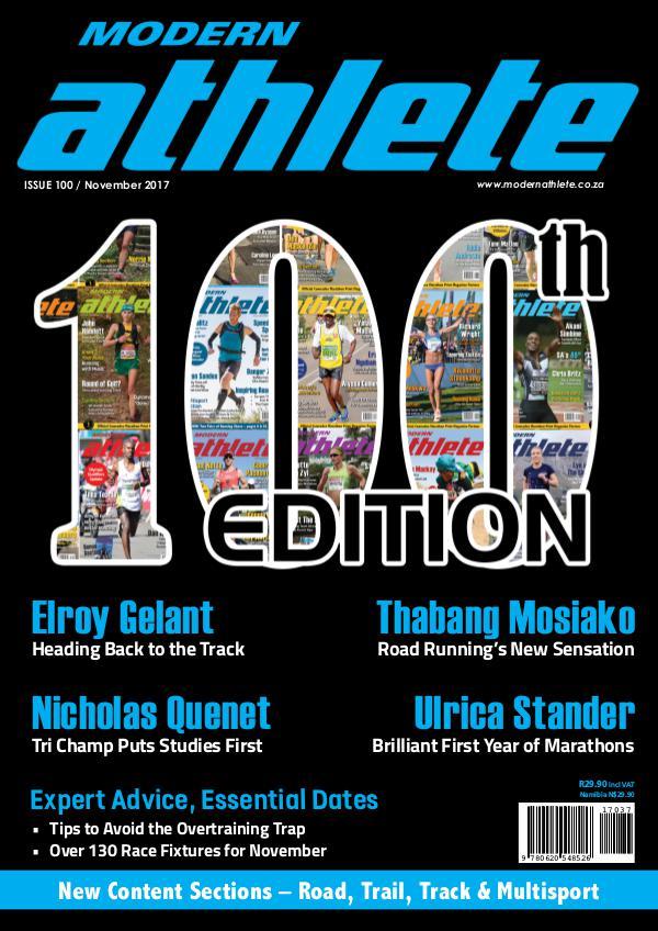 Modern Athlete Magazine Issue 100, November 2017