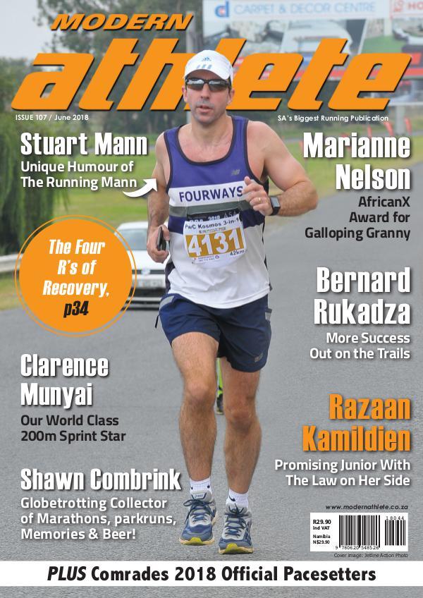 Modern Athlete Magazine Issue 107, June 2018