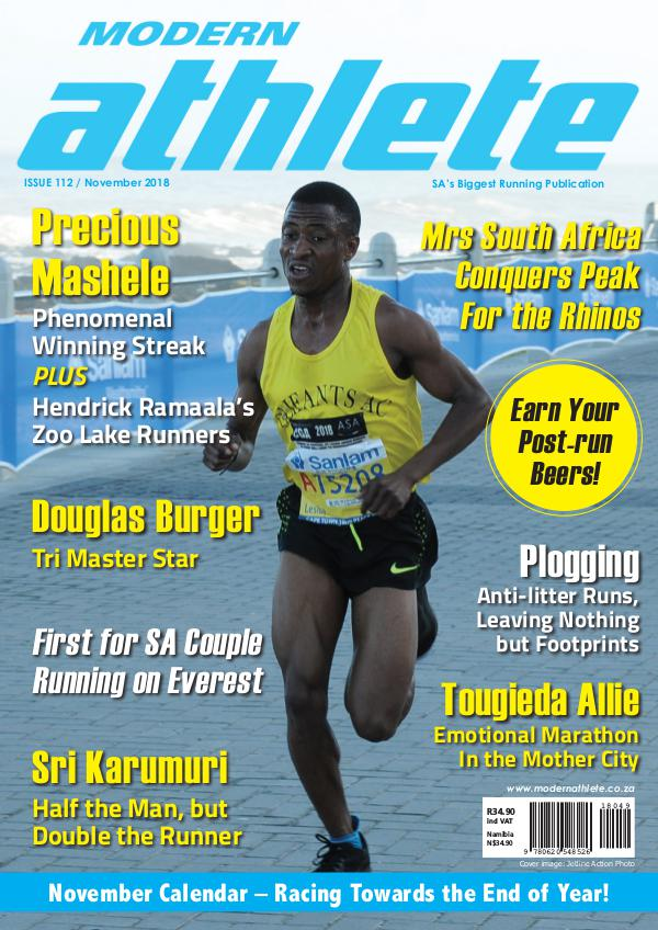 Modern Athlete Magazine Issue 112, November 2018