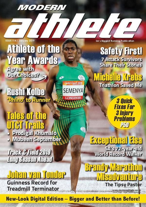Modern Athlete Magazine Issue 114, January 2019