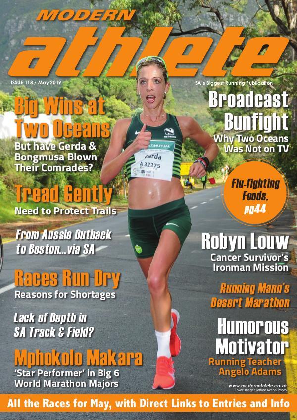 Modern Athlete Magazine Issue 118, May 2019