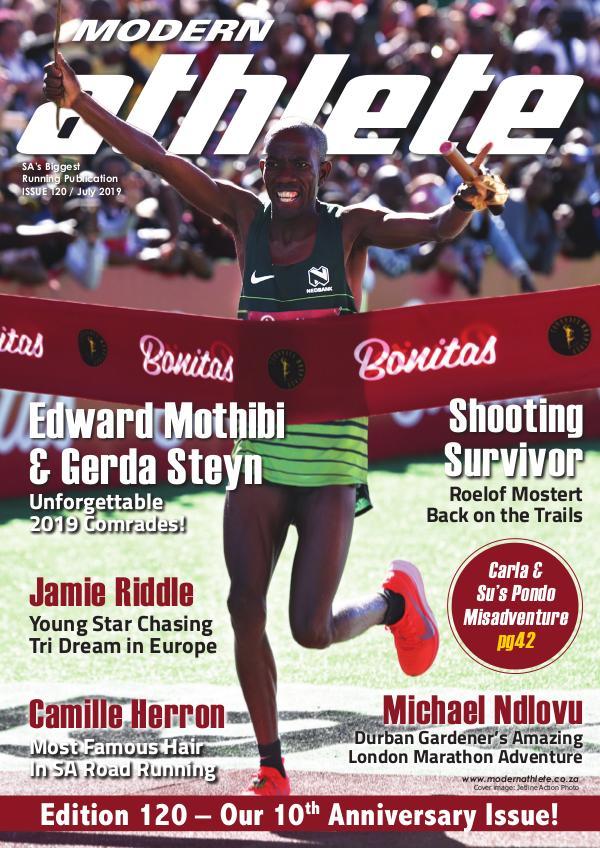 Modern Athlete Magazine Issue 120, July 2019