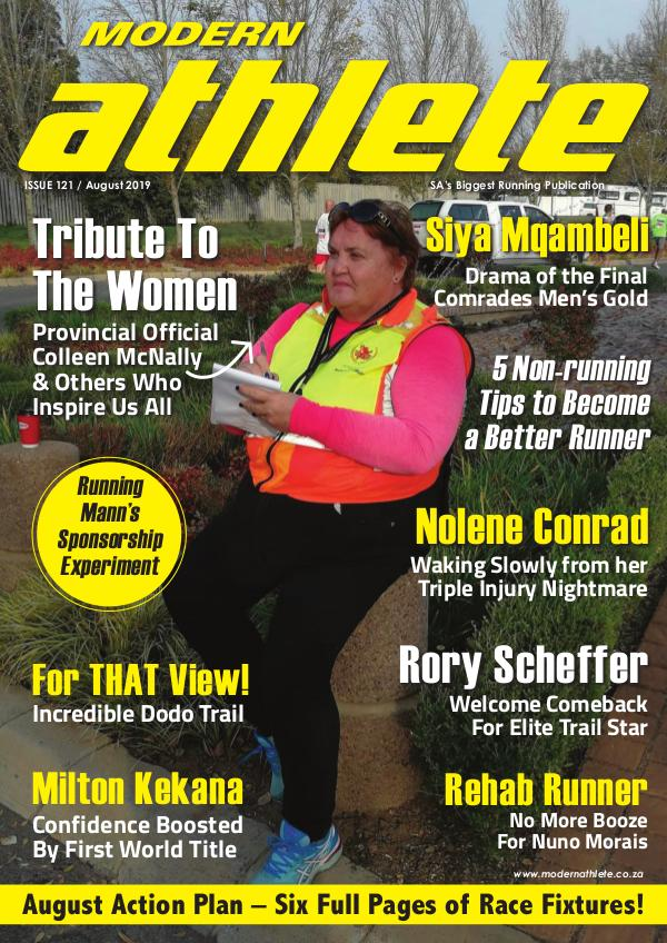 Modern Athlete Magazine Issue 121, August 2019