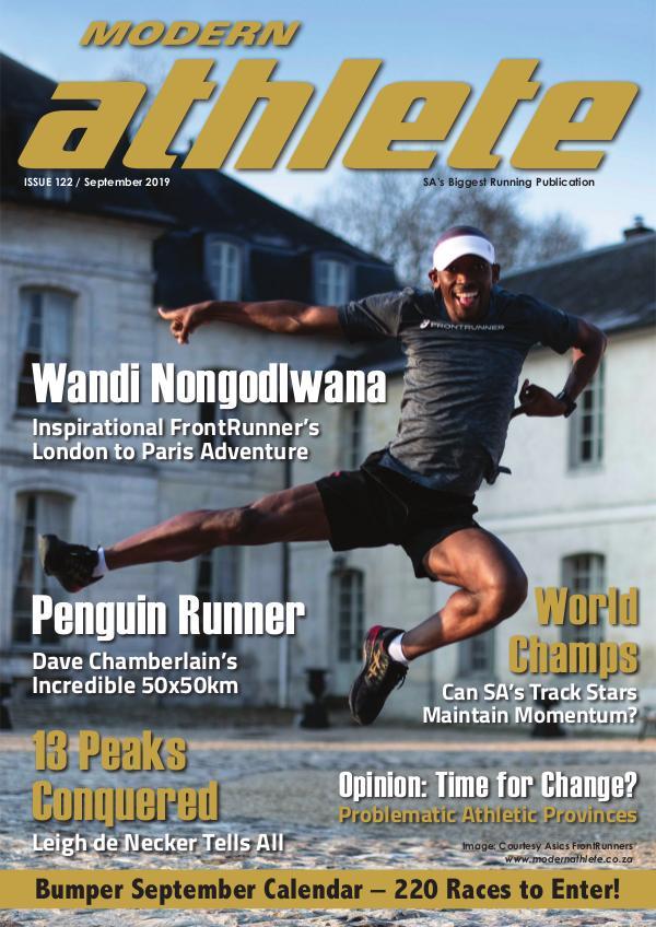 Modern Athlete Magazine Issue 122, September 2019
