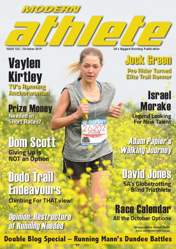Modern Athlete Magazine Issue 123, October 2019