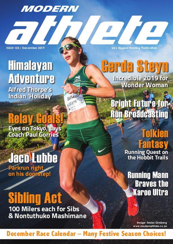 Modern Athlete Magazine Issue 125, December 2019