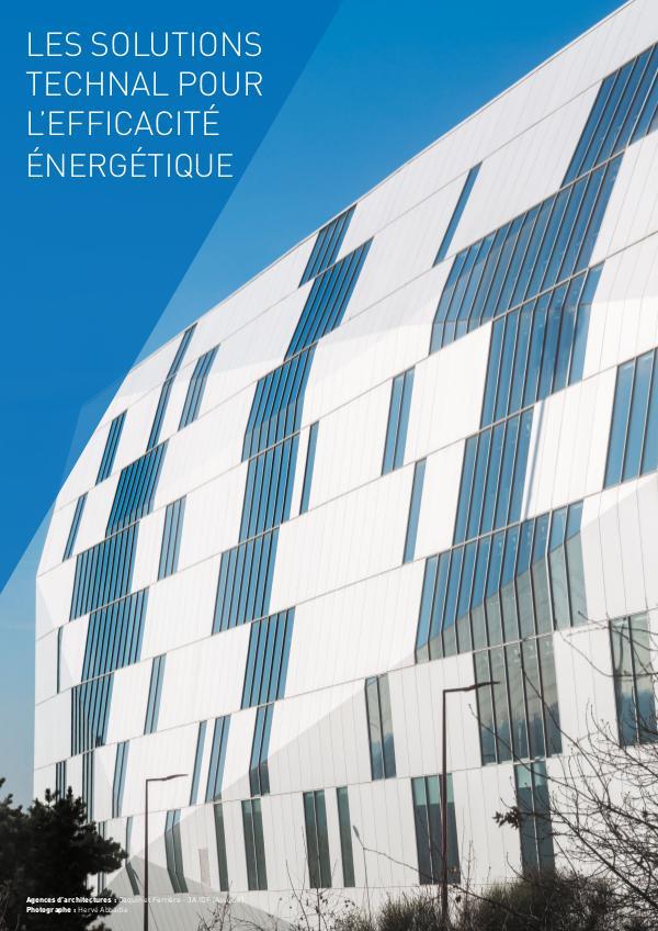 BROCHURES CREER LES SOLUTIONS TECHNAL POUR L'EFFICACITÉ ÉNERGÉTIQU