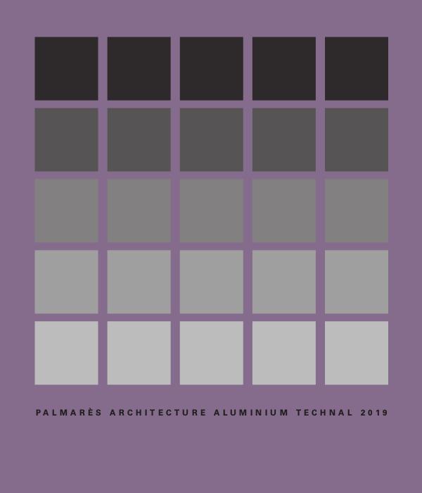 Palmarès Architecture Aluminium TECHNAL 2019